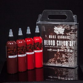 World Famous Ink Maks Kornev Blood Set 4oz